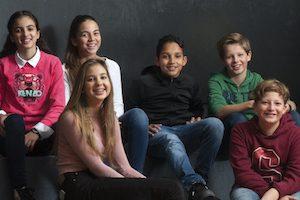 foto groep leerlingen Wolfert Dalton