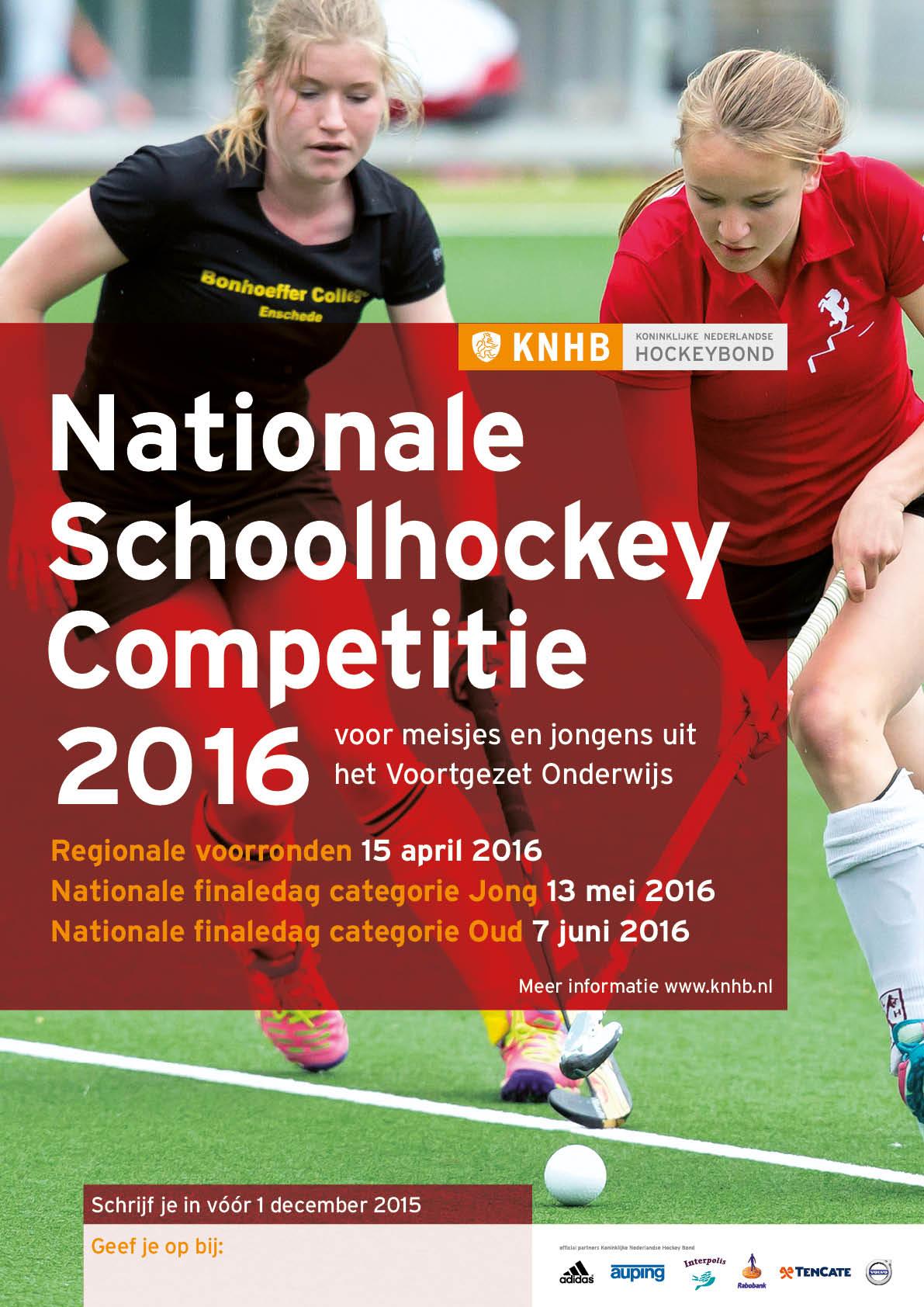 Schoolhockeycompetitie2016